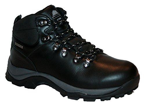 Northwest Territory Inuvik Chaussures de randonnée en cuir pour homme Noir - noir