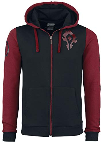 World of Warcraft Horde Pride Felpa Jogging Nero/Rosso L