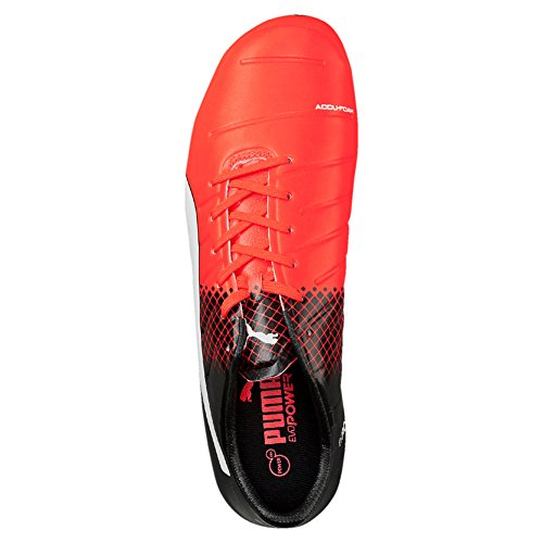 Puma Evopower 2 3 Fg, Chaussures de Football Amricain Homme, Multicolore Peacoat-Electric Blue Lemonade-Safety Yellow