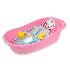 JC TOYS- Accesorios para muñecos bebé, Color Pink (81400)