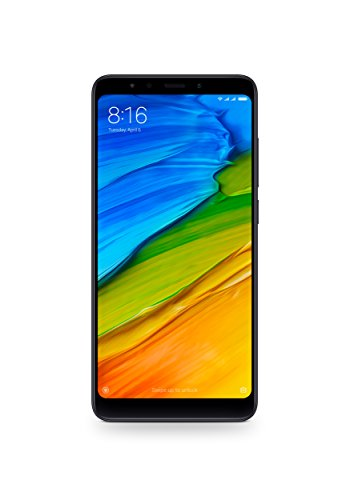 "Xiaomi Redmi 5 Dual SIM 4G 32GB Black - smartphones (14.5 cm (5.7""), 1440 x 720 pixels, 32 GB, 12 MP, Android, Black)"