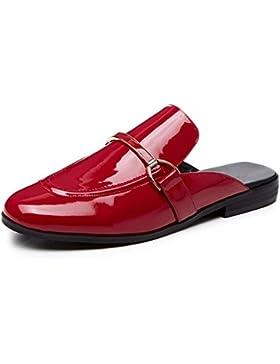 zapatos sin perezosos sandalias del ms femenino de verano y zapatillas , red , US6.5-7 / EU37 / UK4.5-5 / CN37