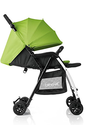 Brevi 709-262 mini large passeggino, verde
