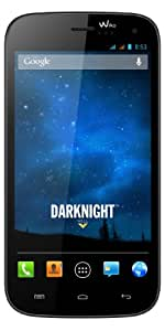Wiko Darknight Darkblue Smartphone débloqué 5 pouces 8 Go Android 4.1 Jelly Bean Bleu