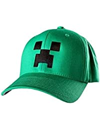 J!NX Minecraft Baseball Cap Kinder Mütze Creeper