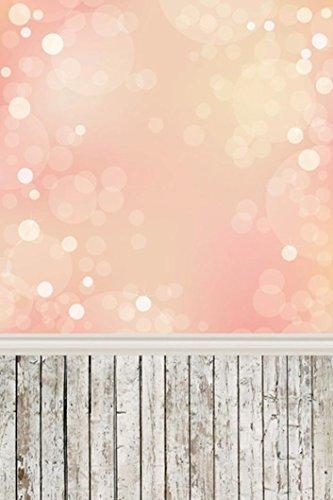 Fotografie Hintergrund Liebhaber Traumhafte Glitter Haloes Fotografie Hintergrund Studio Requisiten Hintergrund 3x5FT (D) (Baby Fotoshooting Hintergrund)
