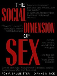 The Social Dimension of Sex by Roy F. Baumeister (2000-09-07)