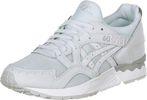 Asics Unisex-Erwachsene Gel-Lyte V Sneakers Weiß