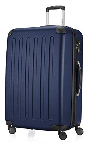 HAUPTSTADTKOFFER - Spree - Valise à coque dure Bleu foncé mat, TSA, 75 cm, 128 litres
