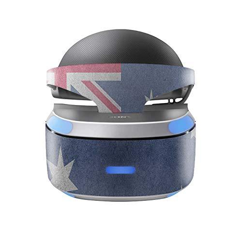 Skins4u Aufkleber Design Schutzfolie Vinyl Skin kompatibel mit Sony PS4 Playstation 4 VR Brille Australien
