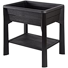 jardiniere sur pied en plastique jardini re bois sur. Black Bedroom Furniture Sets. Home Design Ideas