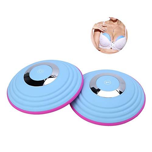 Brustvergrößerung Massagegerät, kabellose elektrische Brustmassage Heizung Anti Schlaffe Schönheit Brustmaschine -