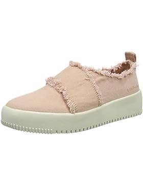 Calvin Klein Jeans Damen Dale Fringe Canvas Sneakers