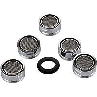 5 piezas Filtro grifo de accesorios de grifo Difusor Filtro grifo de ahorro de agua con junta Para cocina y baño