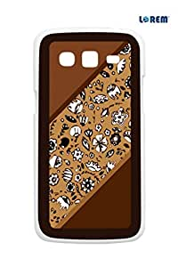 Lorem Back Cover For Samsung Galaxy Grand 2 Duos (G7106)-Multicolor-L13556