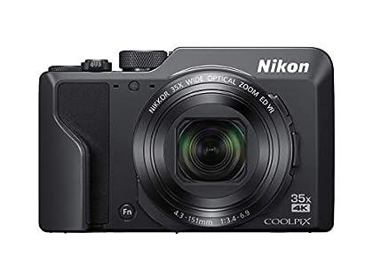 "Nikon COOLPIX A1000 Cámara compacta 16 MP 1/2.3"" CMOS 4608 x 3456 Pixeles Negro - Cámara digital (16 MP, 4608 x 3456 Pixeles, CMOS, 35x, 4K Ultra HD, Negro)"