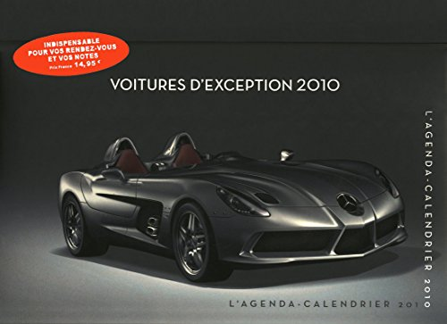 AGENDA CALENDRIER VOITURES D'EXCEPTION 2010