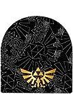 The Legend of Zelda Nintendo Mütze / Beanie: Black Zelda