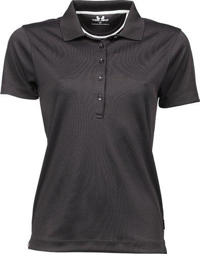 Tee Jays Damen Ladies Sport Performance Poloshirt 7105 Dark Grey XXL