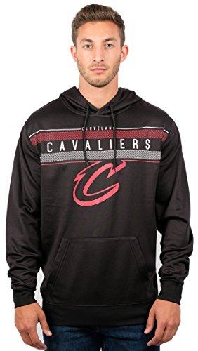 UNK NBA Herren ghm1461F-am NBA Midtown Poly Fleece Pullover Hoodie Sweatshirt, schwarz, Herren, GHM1461F-AM, schwarz -