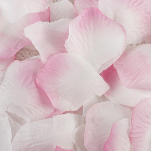 100 flores de seda rosa pétalos boda novia Party Supply Decoración,