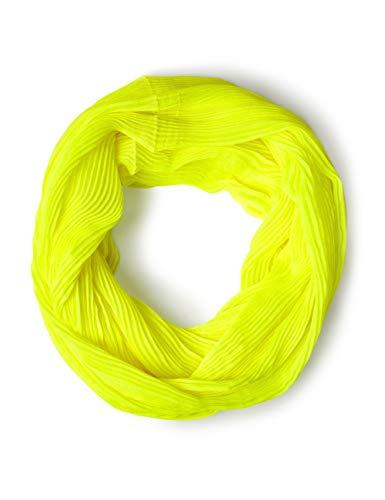 CECIL Damen Schal 570820 Tori, Gelb (Neon Lemon 11601), One Size (Herstellergröße: A)