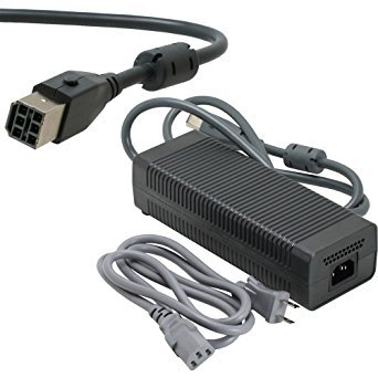 Case NEW AC Adapter Power Supply Power Brick for Microsoft Xbox 360 (203 Watt), [Importado de UK]