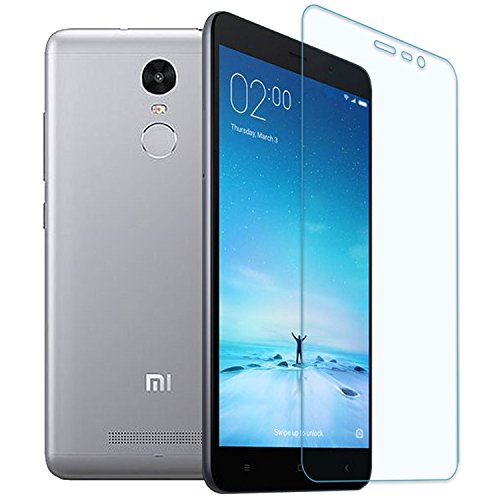 Tukzer TZ-TG-321-HDGC Xiaomi Redmi Note 3 Premium 2.5D Curved Edge Perfect Cut 0.25mm Ultra-Thin HD Crystal Clear Tempered Glass Screen Protector, 9H Hardness, Bubble Free, Anti-Shatter, Comfort Touch For Mi Note 3