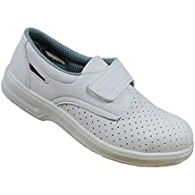 Blanco B-Stock Iturri O1 FO SRC Zapatos de Seguridad Zapatos de Trabajo Zapatos del
