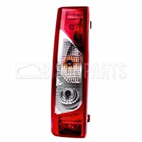 Rear Tail Light Lamp Lens - LH/NS (Without Bulb Holder)