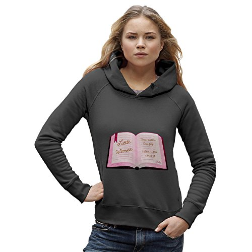 TWISTED ENVY Women's Little Women's Funny Summary Hoodie