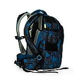 Satch sat-sin-002–9D6–Rucksack für Schule, Unisex, blau