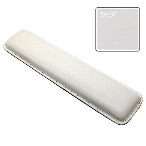Ergonómico de Palm Rest topoint reposamuñecas de Gel portátil compatible para ordenadores portátiles y de sobremesa y teclados teclado Pad almoadoncito (32.7 *: 3,25 mm