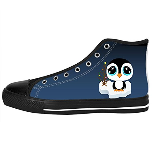 Dalliy pinguin Kids Canvas shoes Schuhe Lace-up High-top Footwear Sneakers B