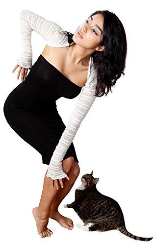 KD dance New York -  Coprispalle  -  Felpa  - Donna Charcoal