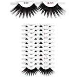 12 packs #301 Christina 100% Human Hair Fake Eyelashes