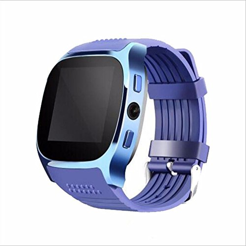 Human T8M Pulsuhr Smart Watch MTK2502 Blutdruckmessgerät Bluetooth 4.0 Smart Watch,Blue