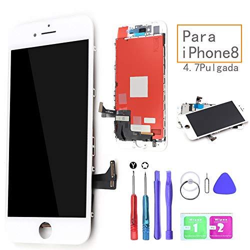 Ibaye LCD Pantalla Táctil Reemplazo iPhone 8 Blanco