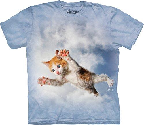 The Mountain Child Pounce Beiber Cat Seth Casteel T Shirt Blau