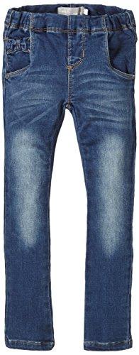 NAME IT Mädchen Jeans Retzy Mini DNM Legging NOOS S, Einfarbig, Gr. 104, Blau (Medium Blue Denim)