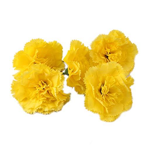Zerama 5Pcs Künstliche Pfingstrose Blüte Knospe Brosche Haarspange Blumen Brosche Wedding Bouquet Dekoration