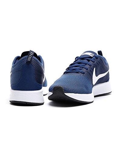 Nike Herren Dualtone Racer Gymnastikschuhe, Blau, 40 EU blau/weiß (MIDNIGHT NAVY/WHITE-COASTAL BLUE-BLACK)