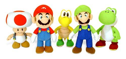 Super Mario Bros - Figura de felpa, 20 cm