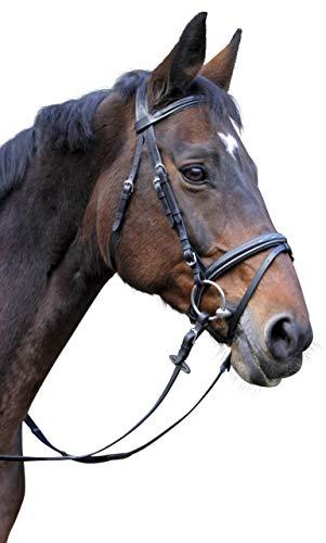 Kerbl Trensenzaum Classic Leder Pony, Braun, 324911