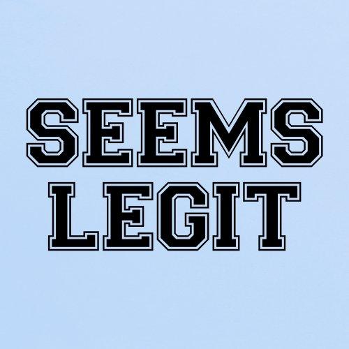 Seems Legit T-Shirt, Herren Himmelblau