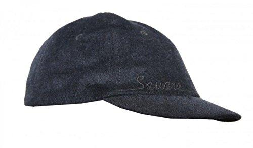 Square Skateboard basic Cap Black, Cap Size:S/M