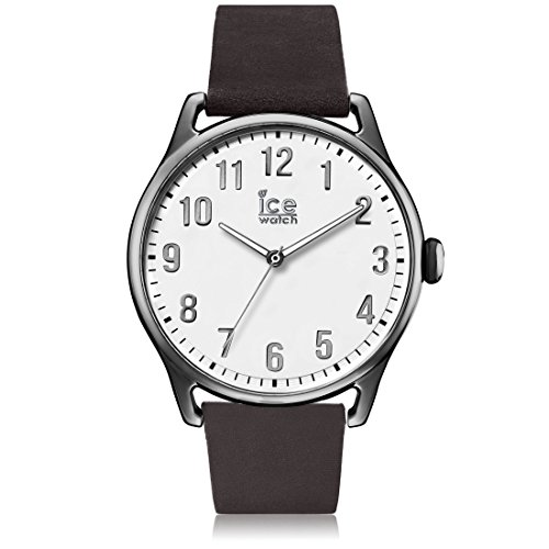 ICE-Watch Time Man Stopwatch Watch with White Dial Analogue Display - 13044