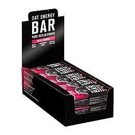 nu3 15 Barrette Energetiche Avena + Cioccolato da 100g | Barrette Biologiche e Vegane Oat Energy Bar con il 60% di…