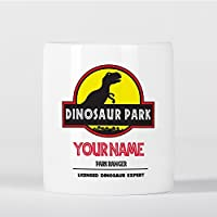 Preisvergleich für Customized T-Rex Dinosaur Park Ranger Expert Children Kids Personalised Spardose