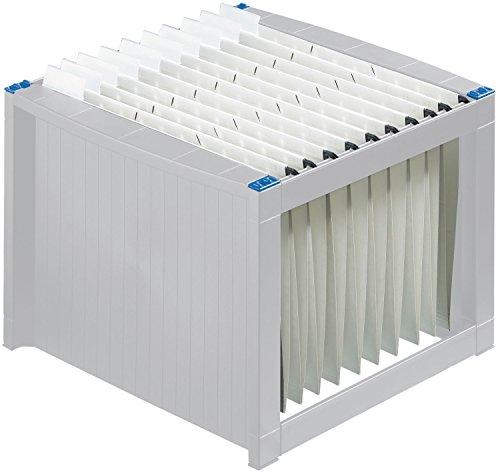helit Hängeboxen/H6110084 260x360x380mm grau/blau